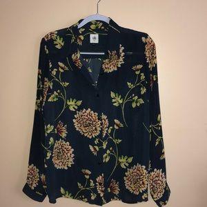 Cabi long sleeves blouse